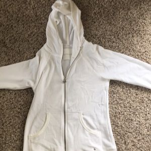 VS angel wing white hoodie with gold angel wings